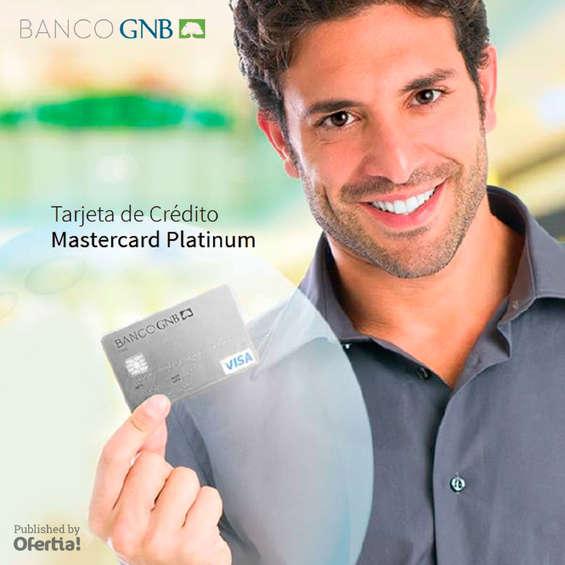 Ofertas de Banco GNB Sudameris, Banco GNB Sudameris_Tarjeta Master Card Platinum