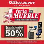 Ofertas de Office Depot, Feria del mueble