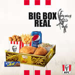 Ofertas de KFC, Big Box Real