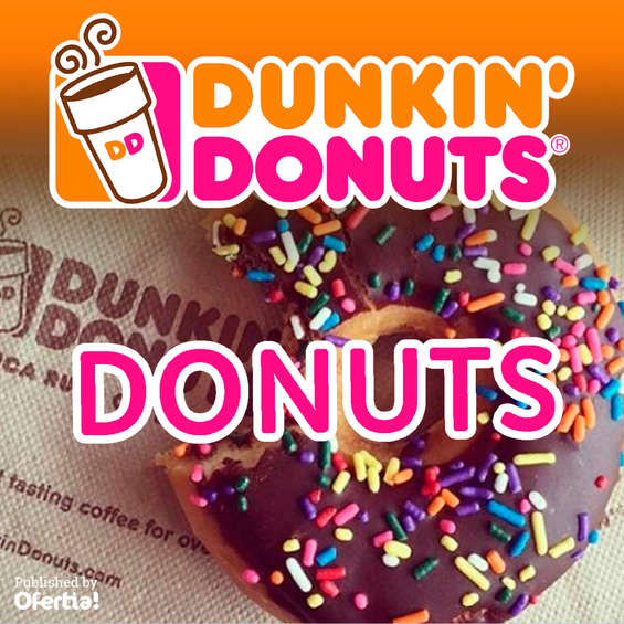 Ofertas de Dunkin' Donuts, Donuts