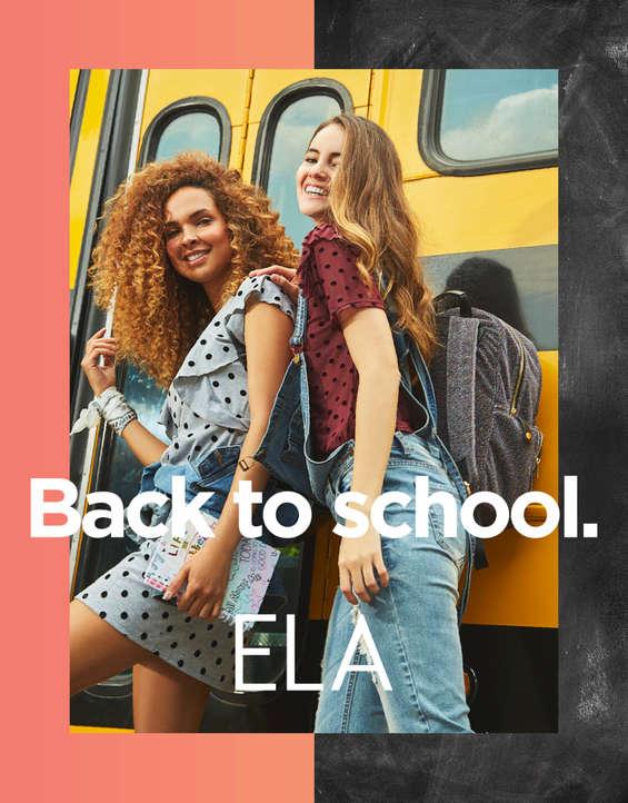 Ofertas de Ela, Back to School