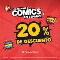 Los mejores comics en español con 20% de descuento
