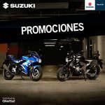 Ofertas de Suzuki Motos, Promociones