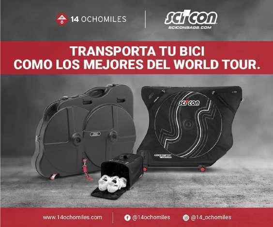 Ofertas de 14 Ochomiles, Transporta tu bici como los mejores del World Tour