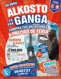Catálogo Viajes Alkosto - En Abril Alkosto es una Ganga