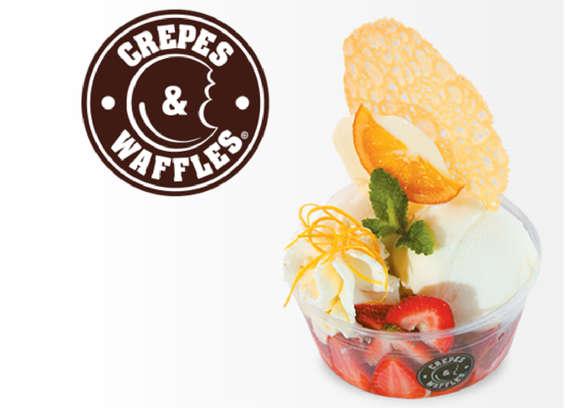 Ofertas de Crepes & Waffles, Helados