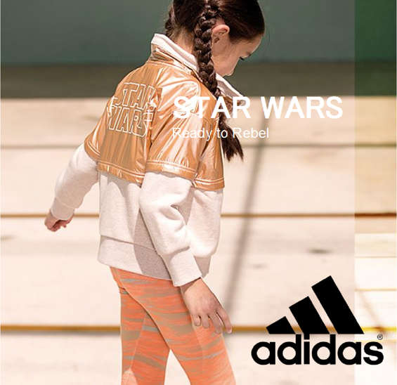 Ofertas de Adidas, Colección Star Wars - Ready to Rebel