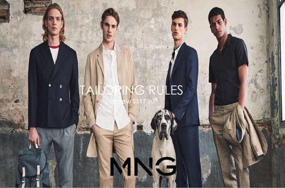 Ofertas de Mango, Colección de trajes - Tailoring rules