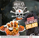 Ofertas de Buffalo Wings, Hello Wings