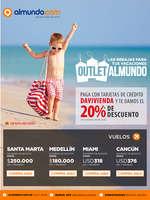 Ofertas de Almundo.com, Las rebajas para tus vacaciones Outlet Almundo