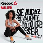 Ofertas de Reebok, Be human