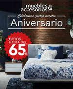 Ofertas de Muebles y Accesorios, Aniversario