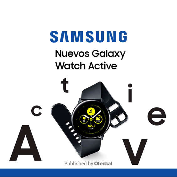 Ofertas de Distribuidor Samsung, amsung galaxy active