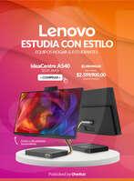 Ofertas de Lenovo, Estudia con estilo