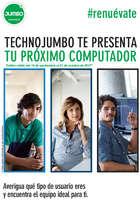 Ofertas de Jumbo, TechnoJumbo te presenta tu próximo computador