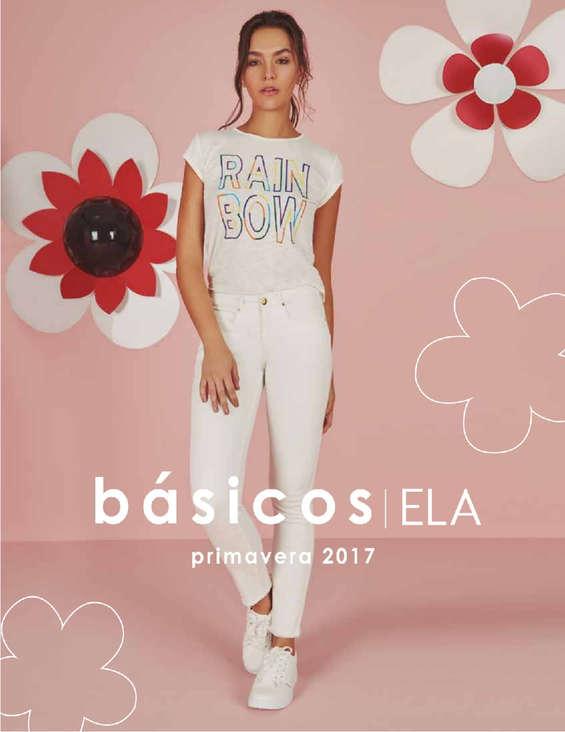 Ofertas de Ela, Catálogo - Básicos ELA primavera 2017