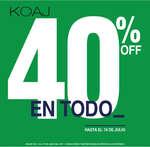 Ofertas de Koaj, 40%Off en todo