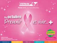 En octubre prevenir es vivir...