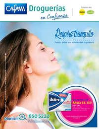 Catálogo Droguerías Cafam - Respira tranquilo, puedes evitar una enfermedad respiratoria