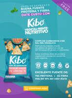 Ofertas de Kibo, Chips de Garbanzos