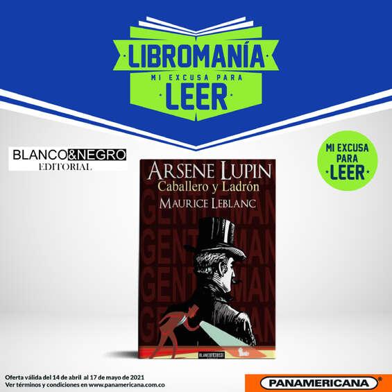 """Ofertas de Librería Panamericana, """"Arsene Lupin"""" de Maurice Leblanc"""