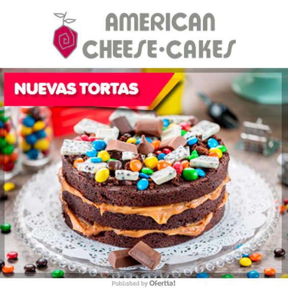 Ofertas de American Cheesecakes, Nuevas Tortas