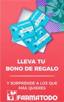 Ofertas de Farmatodo, Nuevos bonos de regalo