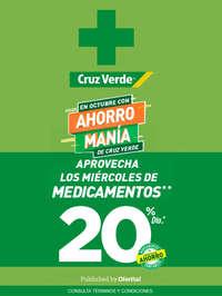Cruz Verde 20% en medicamentos