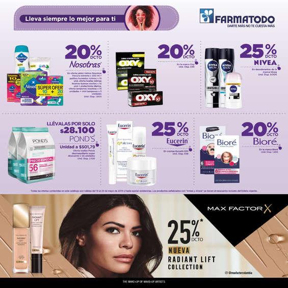 Ofertas de Farmatodo, Folleto-Colombia