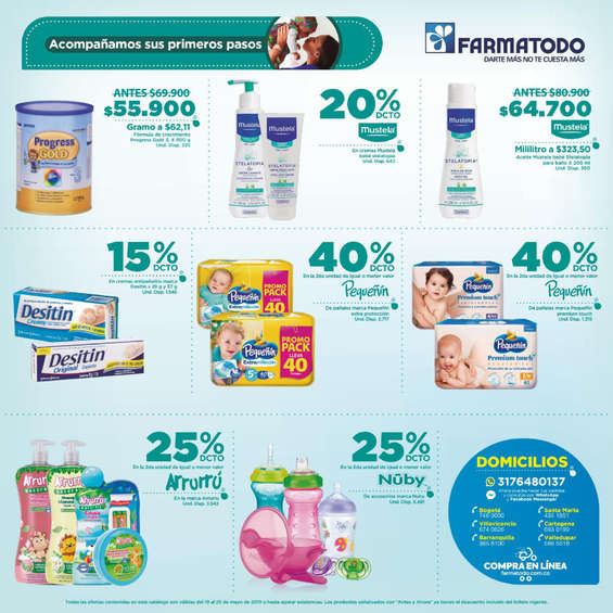 Ofertas de Farmatodo, Folleto-Colombia