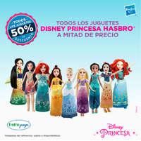 Todos los juguetes Disney Princesa Hasbro a mitad de precio