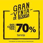 Ofertas de Tennis, Gran venta de bodega